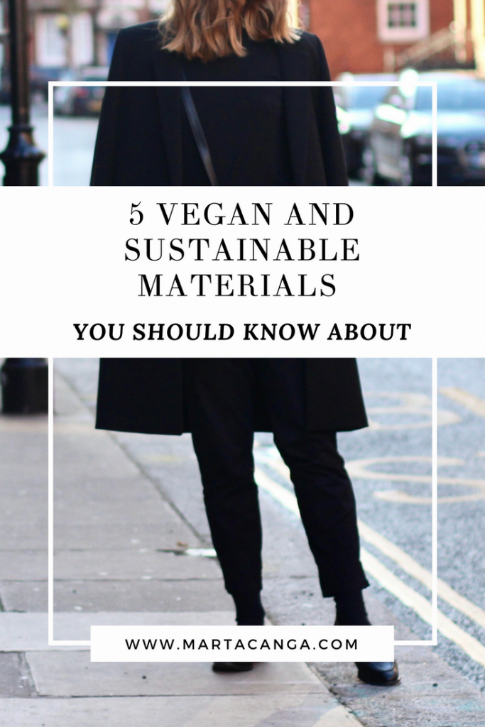 5 Vegan and Sustainable Materials You Should Know About