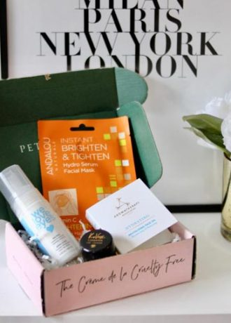 Petit Vour Vegan Beauty Box | January 2018 Review