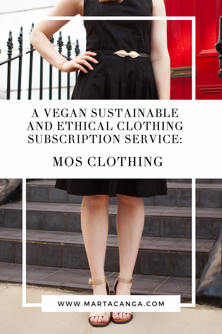A Vegan Sustainable and Ethical Clothing Subscription Service: MOS Clothing